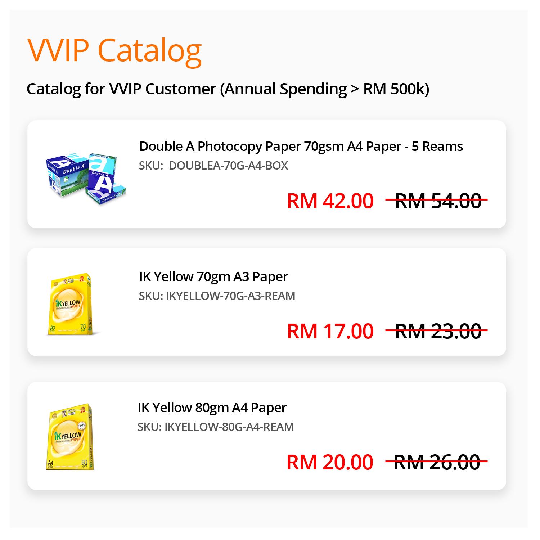 VVIP-Catalog